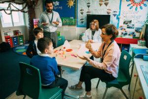 Hearing Unit Children Working